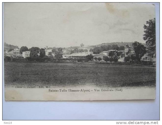 Sainte Tulle, Vue Generale - France