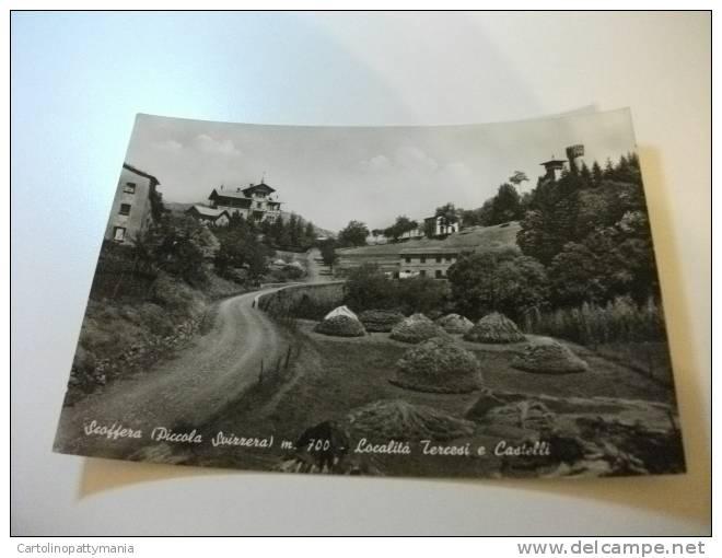 Scoffera Piccola Svizzera Località Tercesi E Castelli Genova - Andere Steden