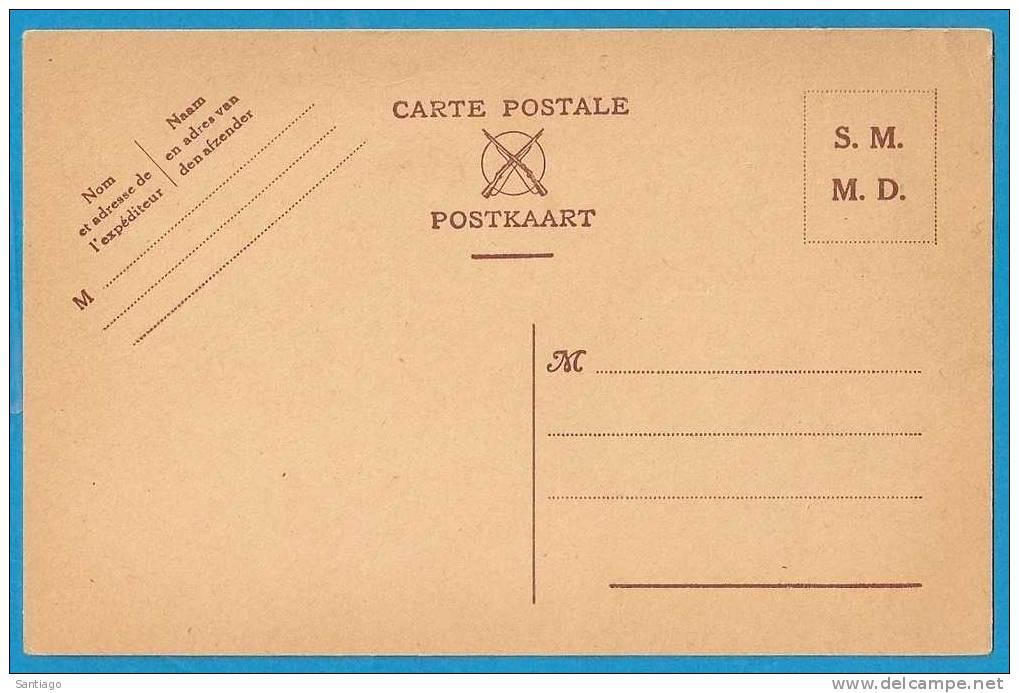 Militaire Postkaart M.D. / Carte Postale Militaire D.M. Postkarte Militar : Nieuw - Belgio