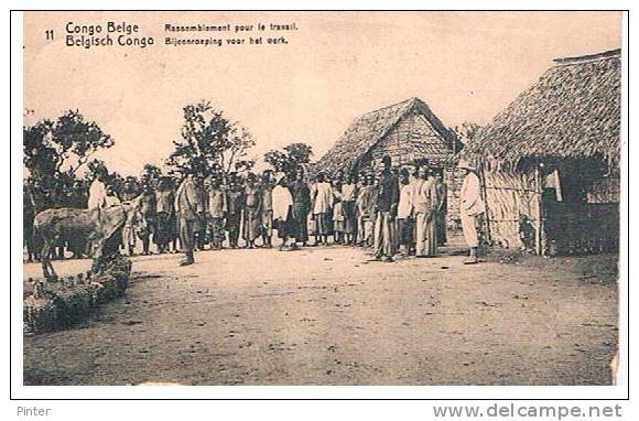CONGO - Rassemblement Pour Le Travail - Congo - Brazzaville