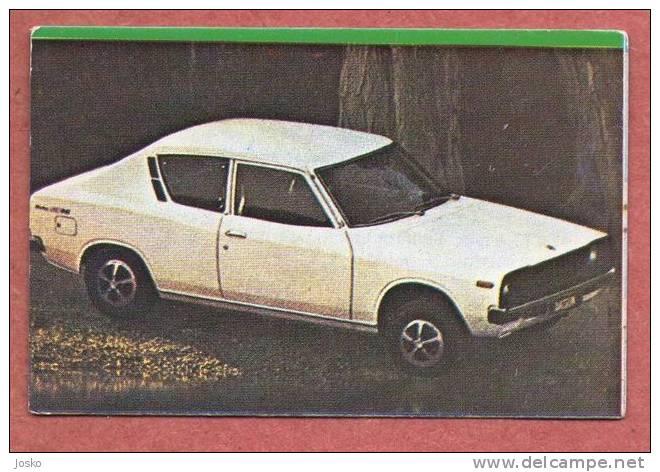 DATSUN - NISSAN Japan ( Croatia Old Vintage Card ) Car Automobile Auto Cars Automobiles Autos Oldtimer - Unclassified