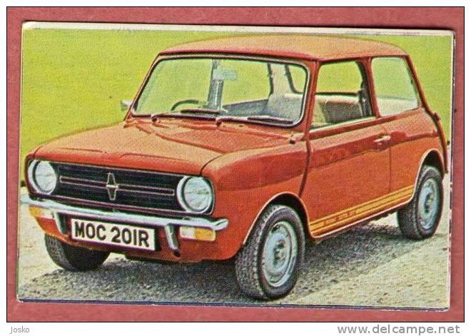 INNOCENTI MINI - Italy  ( Croatia Old Vintage Card ) Car Automobile Auto Cars Automobiles Autos Oldtimer - Unclassified