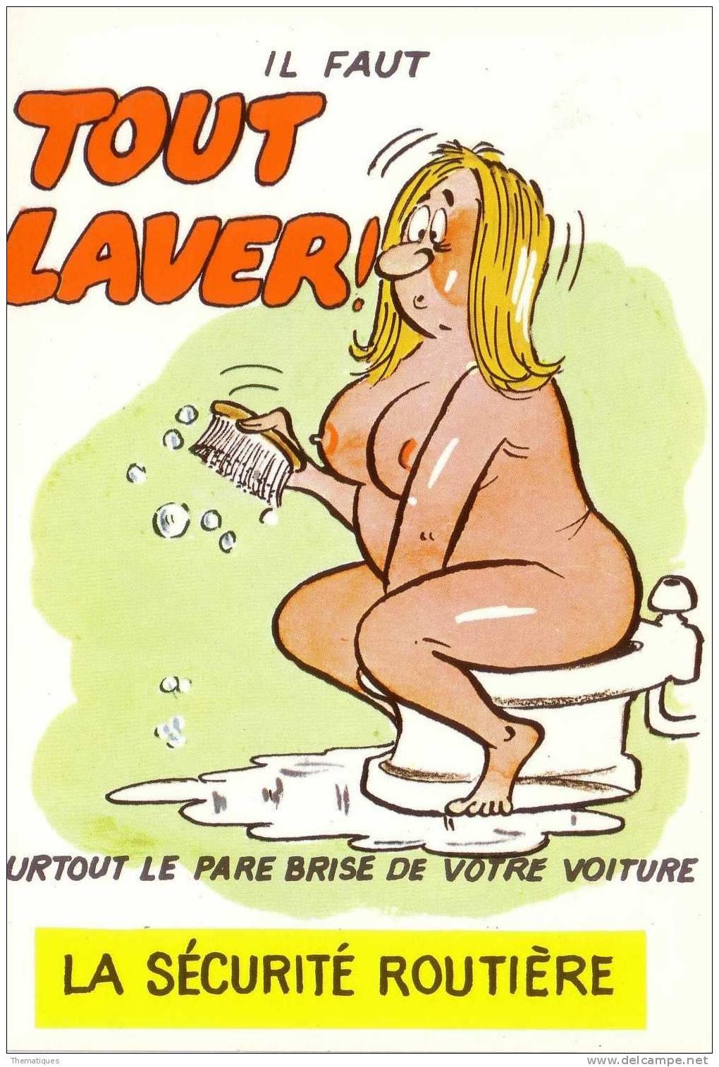 Thematiques Humour Serie Securite Routiere Reference 607/3  Editions Lyna  Carte Non Ecrite Qualite Ttb - Illustrateurs & Photographes