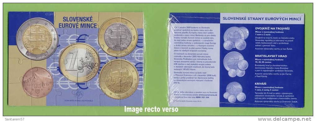 Puzzle NARODNA BANKA SLOVENSKA 24 Pièces EURO SLOVAQUIE SLOVAKIA - Other Collections