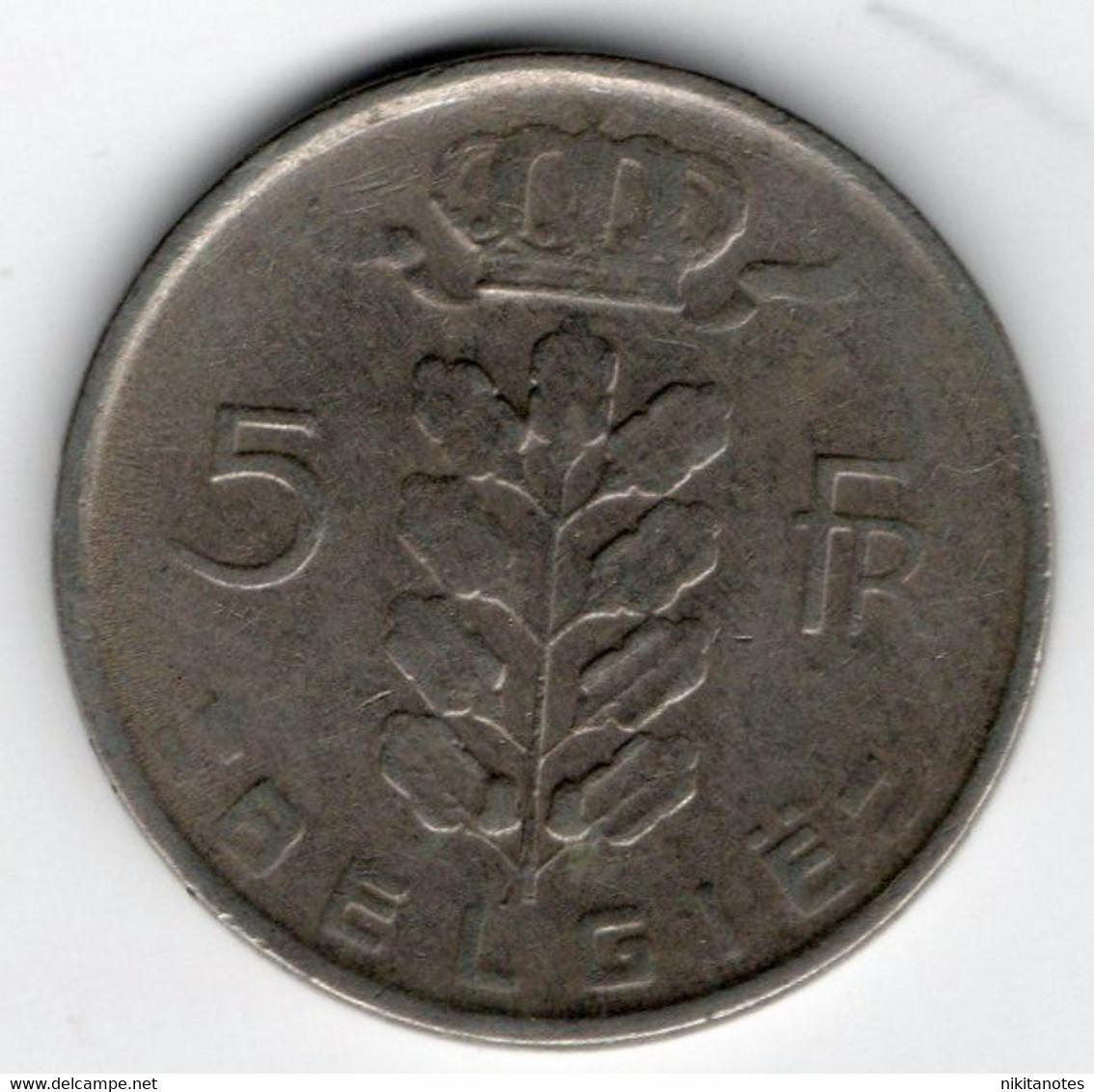 *St. PIERRE & MIQUELON - 5 FRANCS 1950/60 UNC - P 22 - Banknotes