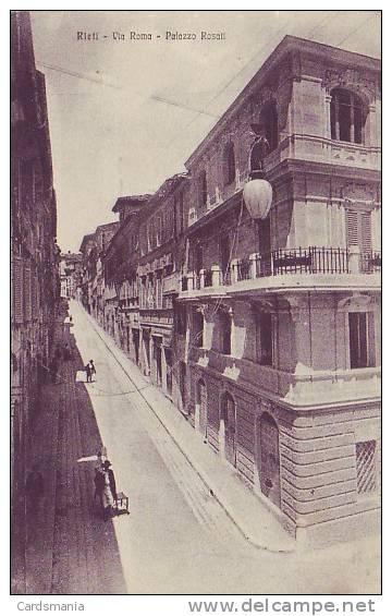 Rieti-Via  Roma-1918 - Rieti