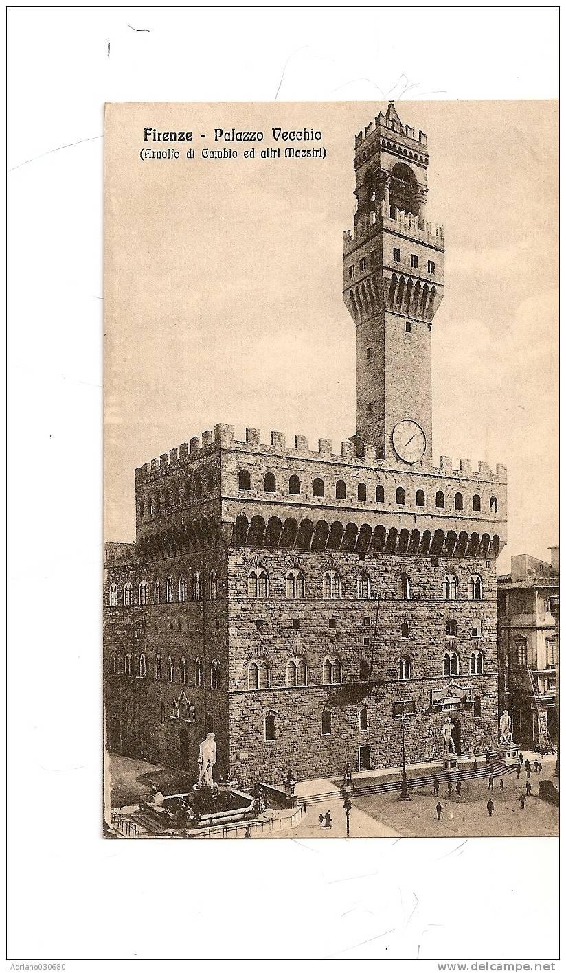 ANTICA CARTOLINA DI  FIRENZE - Firenze