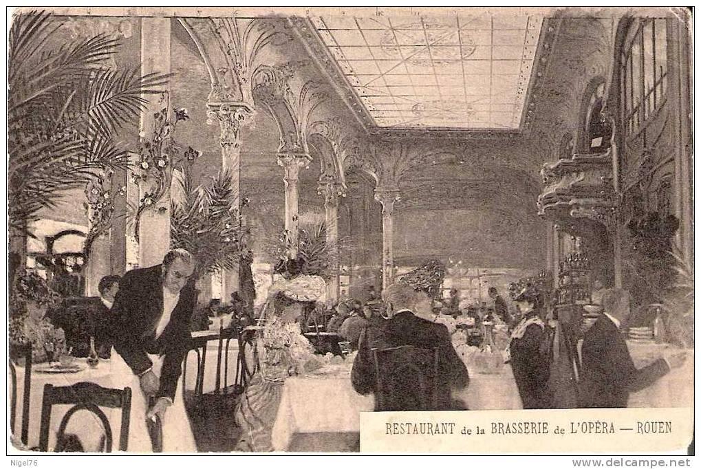 CP ROUEN Restaurant De La Brasserie De L'OPERA - Rouen