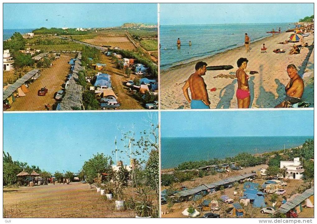"Espagne- Alicante- DENIA Camping ""Las Marinas "" - Sur La Plage -multi Vues ( Auto Voiture ) *PRIX FIXE - Alicante"