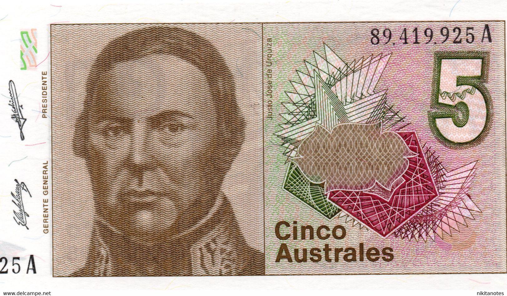 BOLIVIA 5 BOLIVIANOS 1945 P.138 SIMON BOLIVAR Vf - Bolivia
