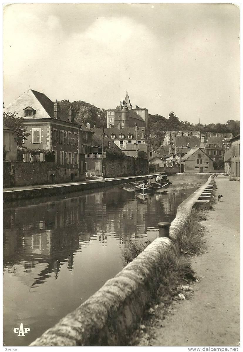 MONTARGIS N° 169 LE CANAL ET LE CHATEAU - Montargis