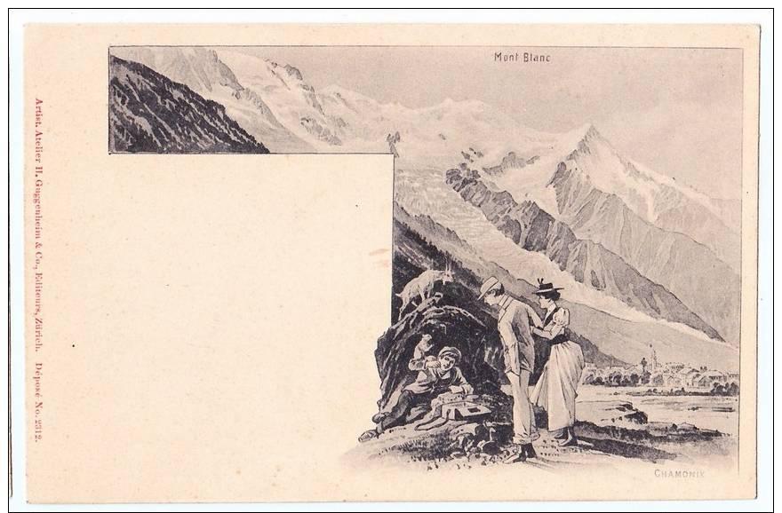 Chamonix mont blanc carte pionni re ill artist for Haute zurich