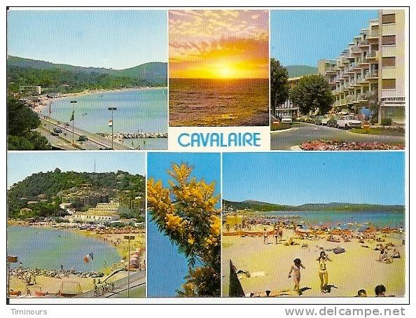 83 CAVALAIRE - Multivues, Flamme CALUIRE Jean Moulin - Cavalaire-sur-Mer