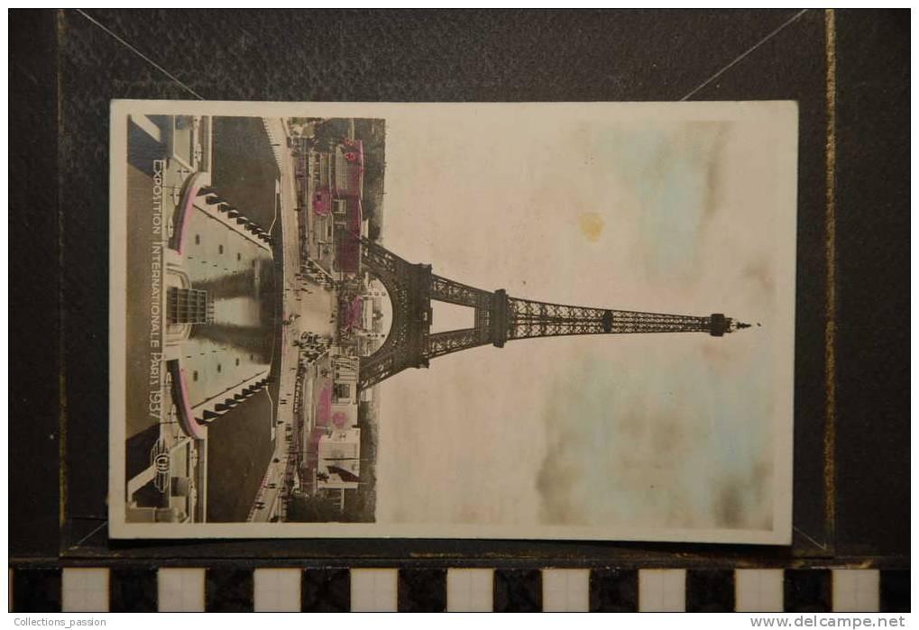 PARIS VUE D´ENSEMBLE PRISE  DU TROCADERO - Exhibitions