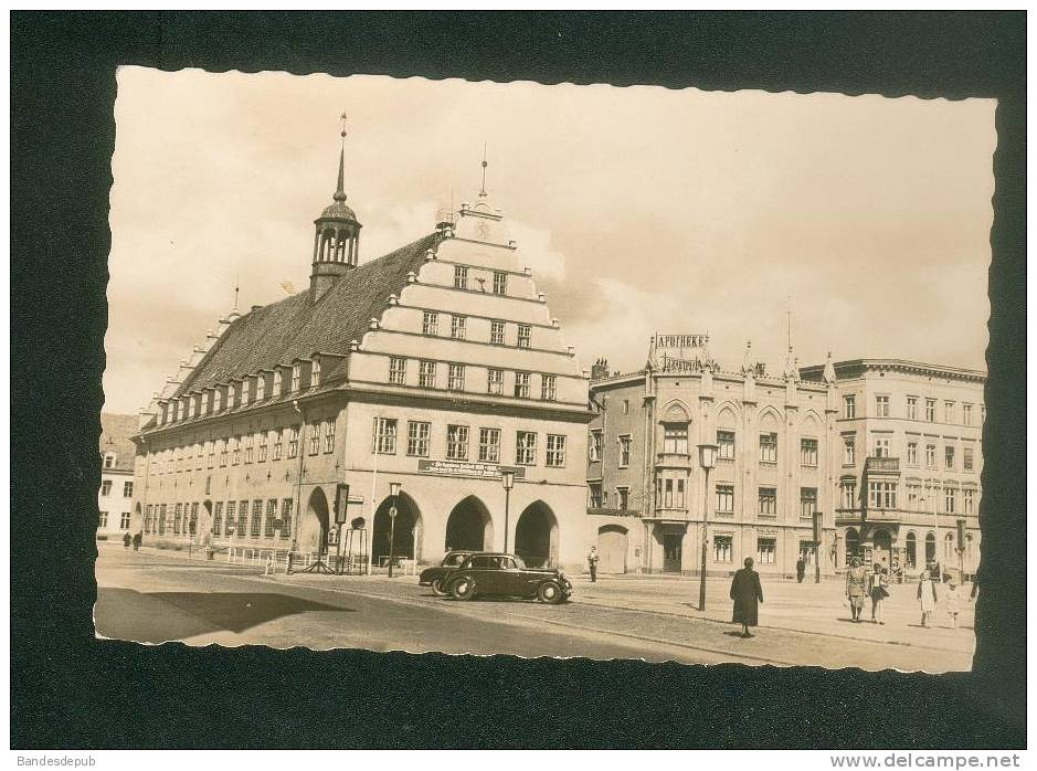 Allemagne - GREIFSWALD  - Rathaus ( Automobile Foto Hübner ) - Greifswald