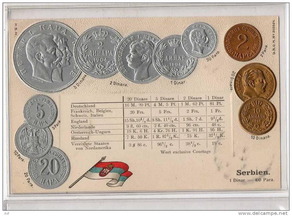 D500 SERBIE SERBIA - Monnaies (représentations)