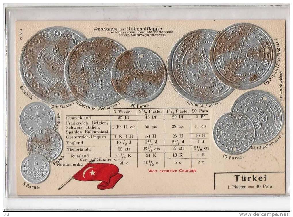 D508 TURQUIE TÜRKEI TURKEY - Monnaies (représentations)