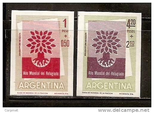 ARGENTINA - 1960 - AÑO MUNDIAL DEL REFUGIADO Imperforate -# 616a/617a MINT (NH) - Non Classés