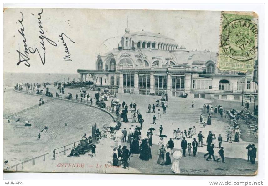 Oostende Ostende 1905 Casino Kursaal - Oostende