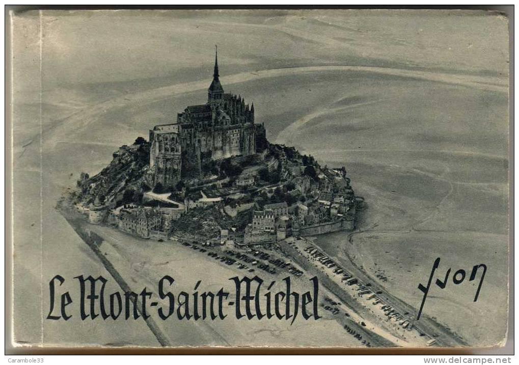 CPSM  Carnet De 20 Vues MONT SAINT MICHEL  édit YVON  Préface Jean-M SCHVEITZER    Y5/1206 - Le Mont Saint Michel