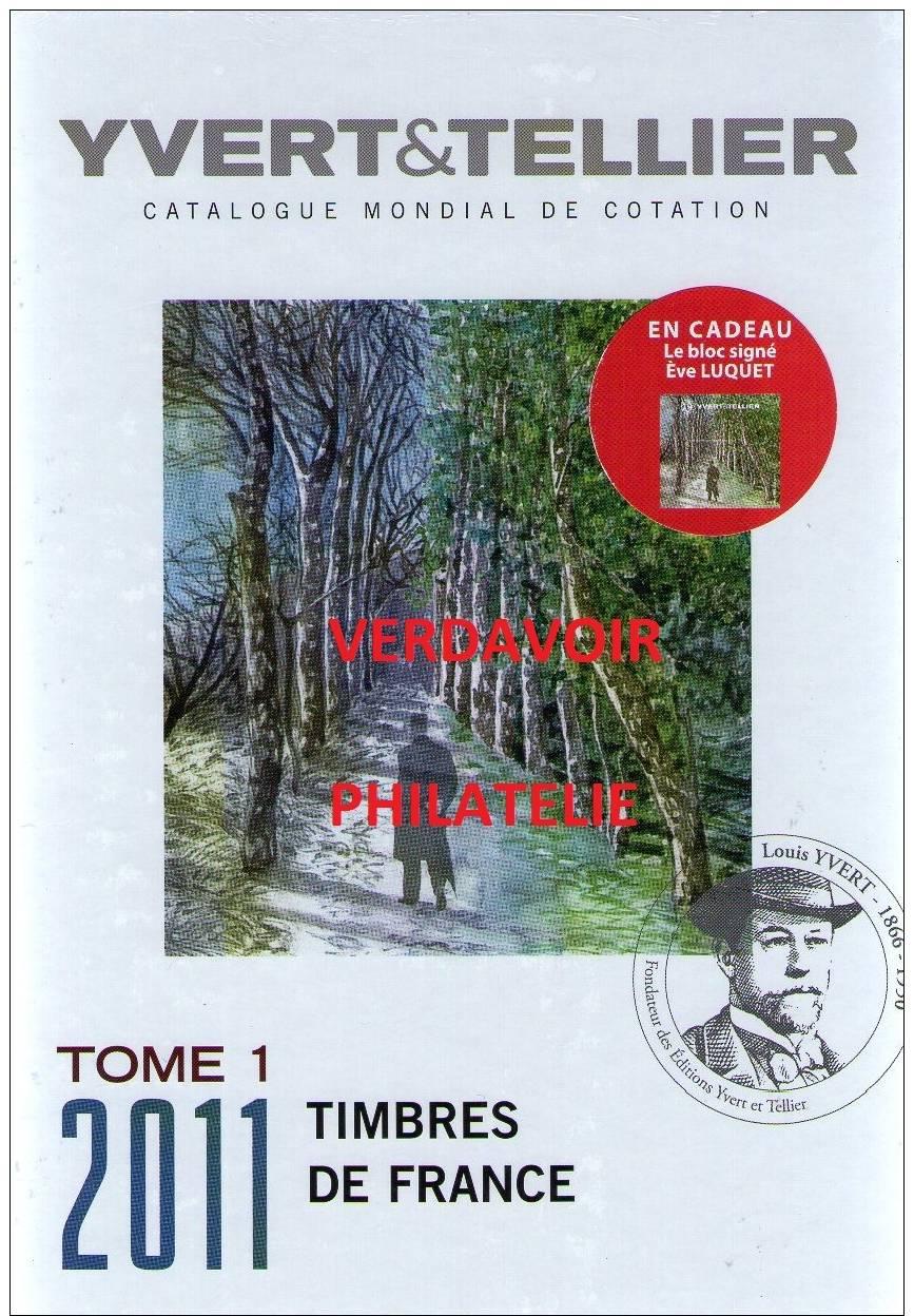Tome 1 Timbres De France édition 2011 - Frankrijk