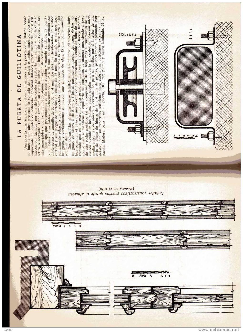 Carpinteria  -  175 Modelos Por Anselmo Rodriguez Hernandez - Monografias CEAC - Livres, BD, Revues