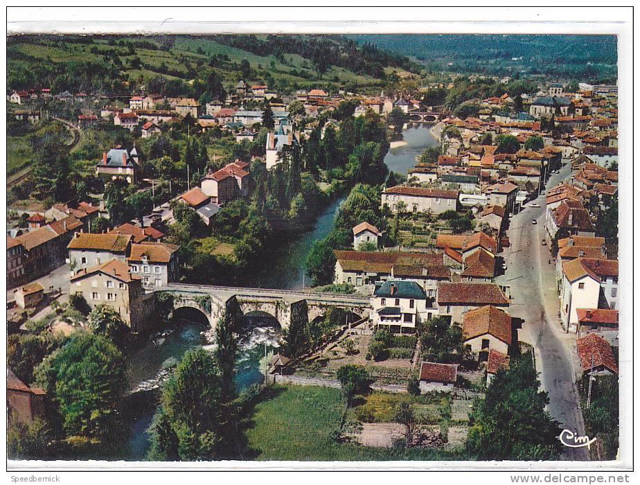 17088 FIGEAC  Vue Générale Aérienne Pont Du Pin Pont Gambetta Sur Le Celé. 46.102.00.0.4284 Cim - Non Classés