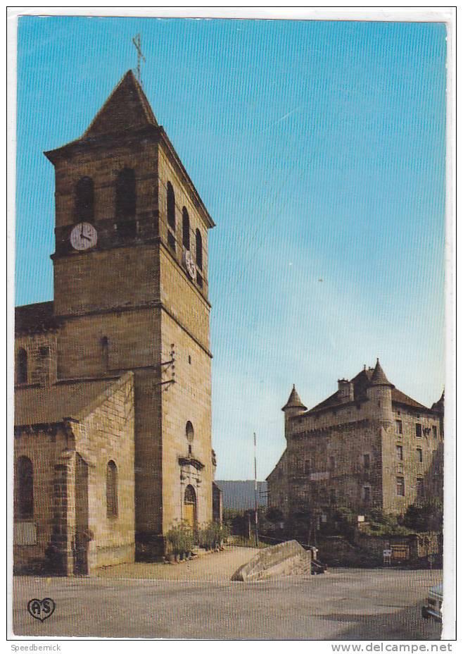 17090 LACAPELLE MARIVAL - L' Eglise Et Le Châteu XIIè S .- N° 46 LM 1017  Apapoux AS 30N37 - Non Classés