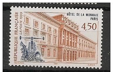 N°3252 Hotel De La Monnaie - Neuf Luxe ** - Nuevos