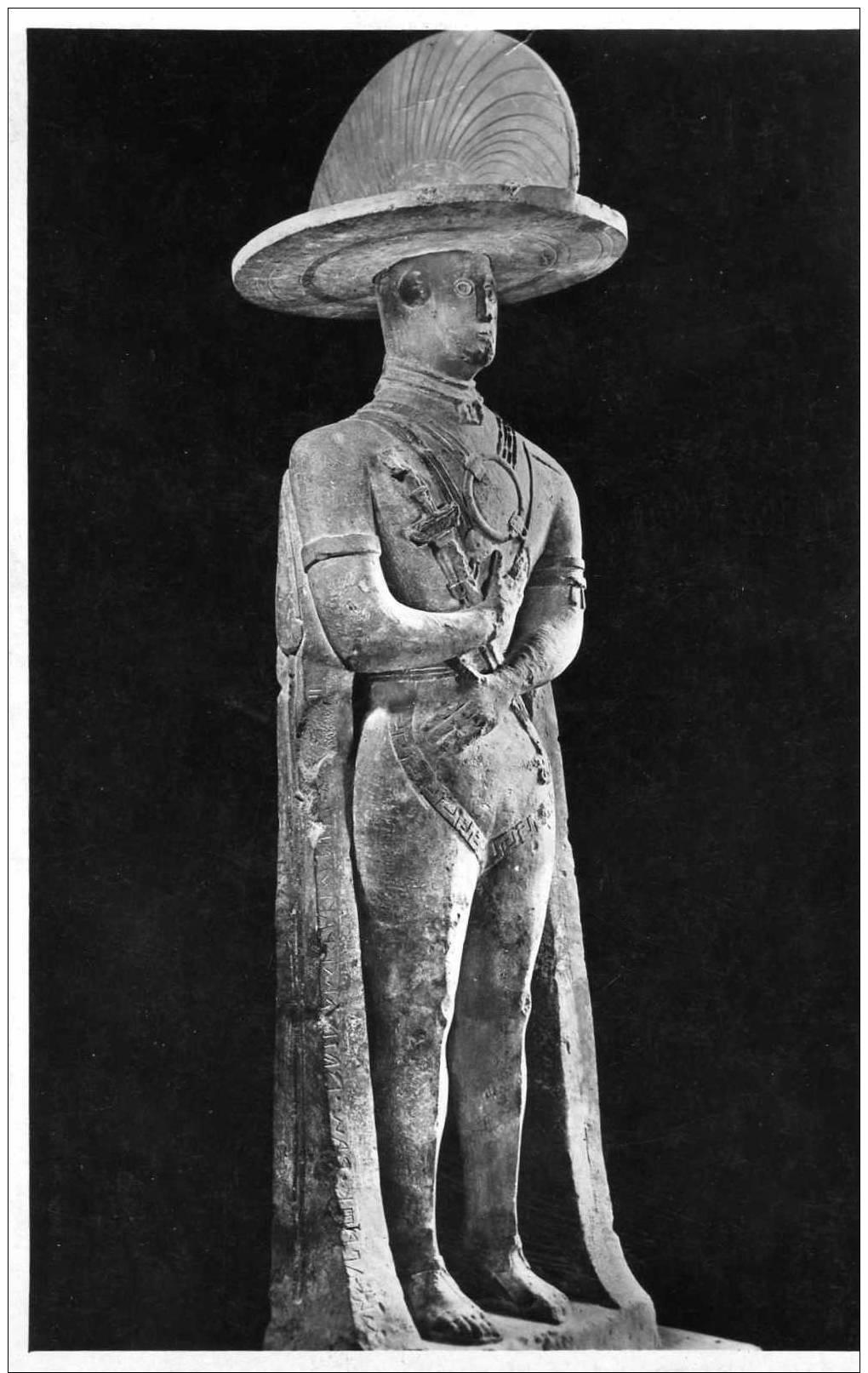 Guerriero Di Capestrano( Guerrier Des Dieux) Carte Photo - Sculptures
