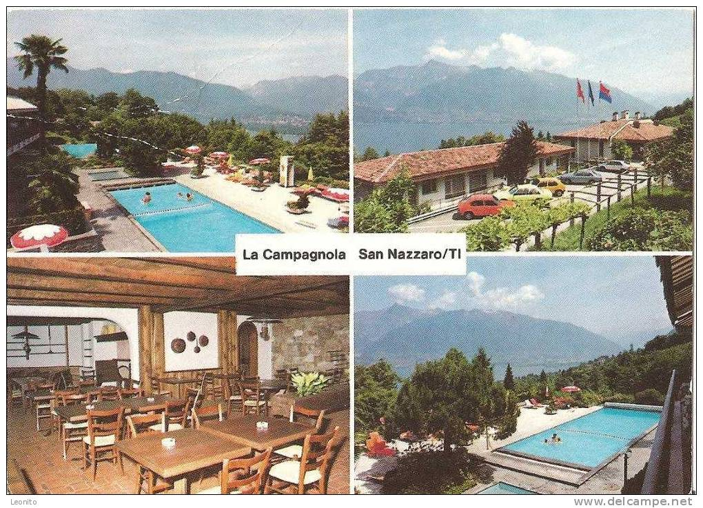 San Nazzaro Ferienzentrum La Campagnola - TI Tessin