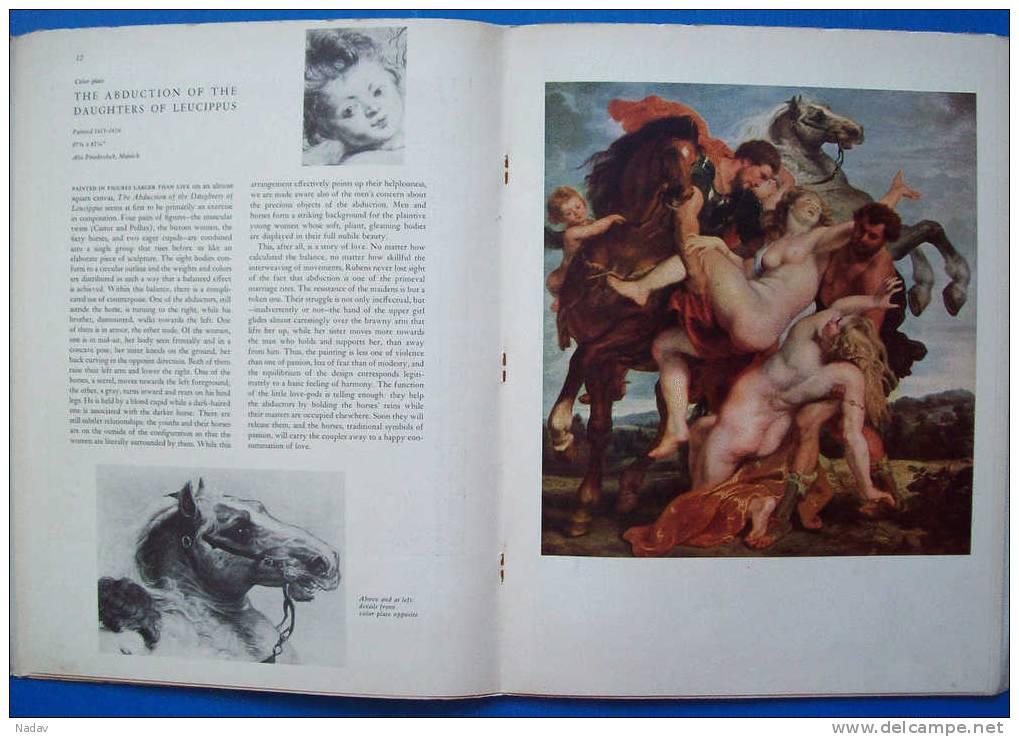 1955, Rubens, Abrams Art Book Portfolio -29 Prints, 32,5x25cm. Full Set. - Prints