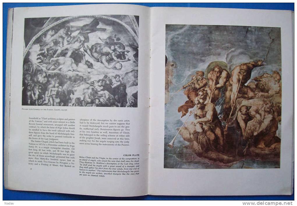 1955, MICHELANGELO, Abrams Art Book Portfolio-23 Prints, 32,5x25cm. Full Set. - Prints