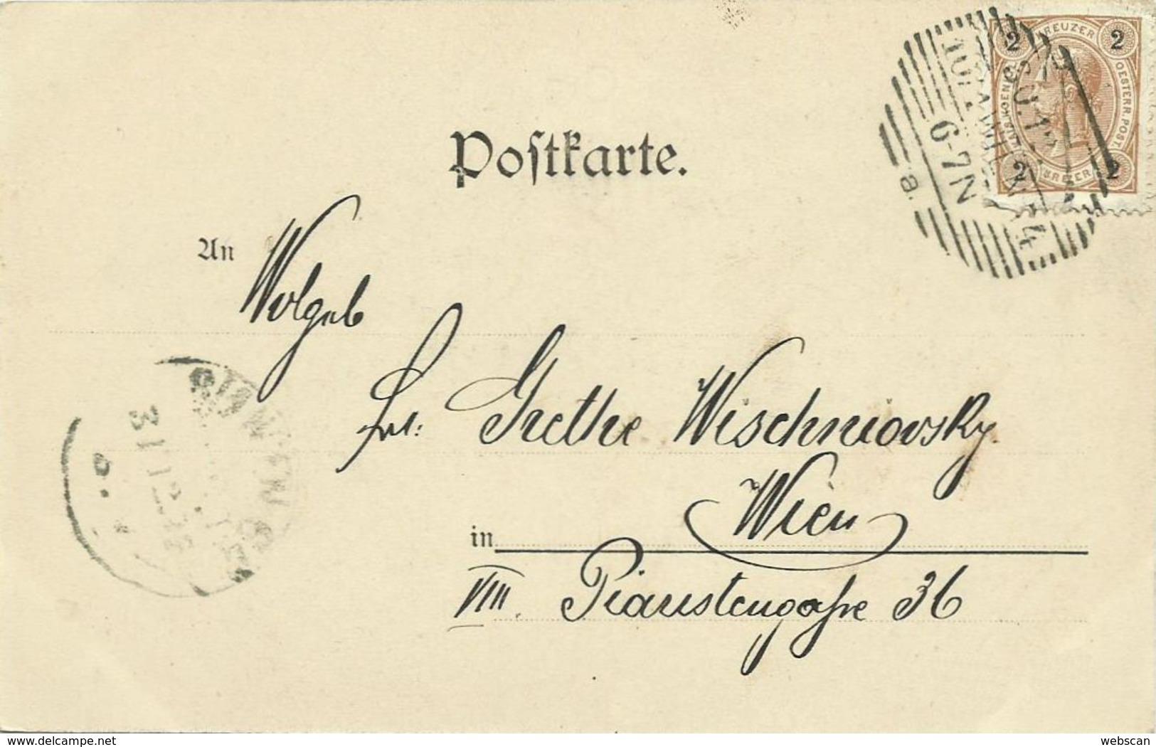 AK Neujahr Schornsteinfeger Kind Farblitho 1900 #102 - Neujahr