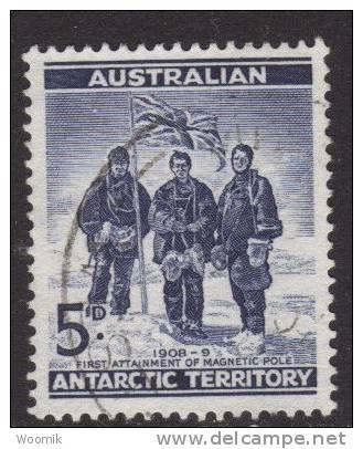 AAT ~ 5d Blue  ~ SG 6 ~ 1961 ~ Used - Australian Antarctic Territory (AAT)