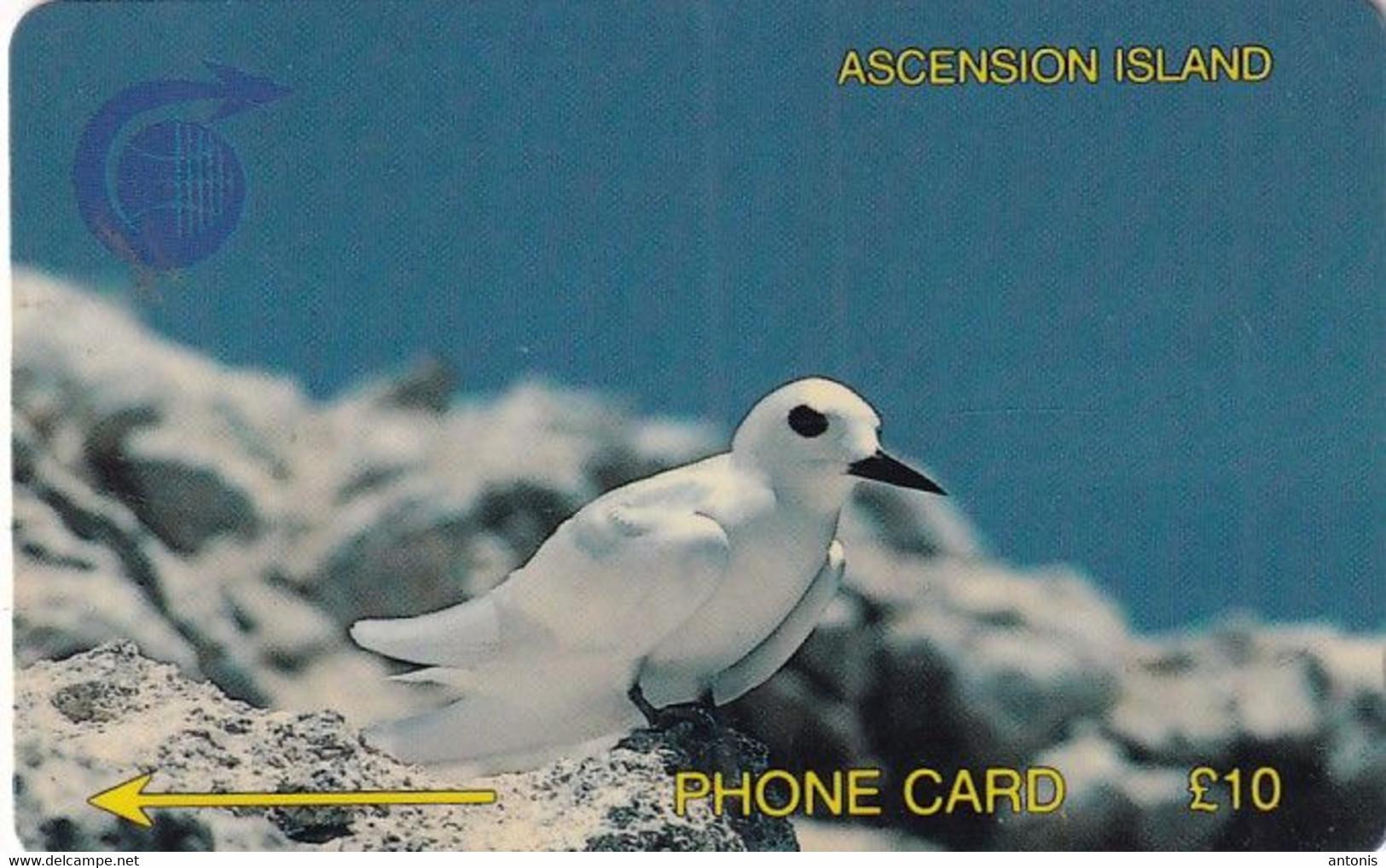 ASCENSION ISL.(GPT) - Fairy Tern, CN : 2CASB, Tirage 4997, Used - Ascension (Insel)