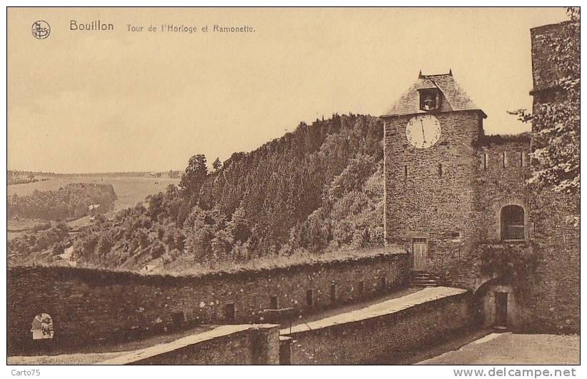 Architecture - Beffroi - Horloge De Bouillon - Monuments
