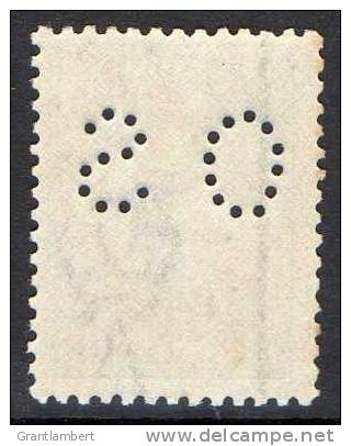 Australia 1915-1924 6d Blue Kangaroo 3rd Watermark Perf OS - CCCA 26OS - MNH - Actual Stamp - 1913-48 Kangaroos