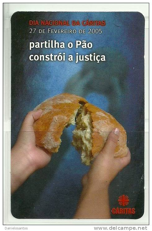 2005 Pocket Poche Bolsillo Calender Calandrier Calendario  Portugal Caritas - Calendars