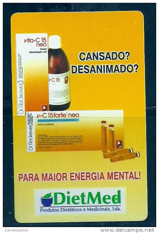 2005 Pocket Poche Bolsillo Calender Calandrier Calendario  Portugal DietMed - Small : 2001-...