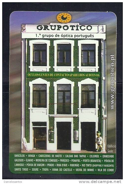 2005 Pocket Poche Bolsillo Calender Calandrier Calendario  Portugal Grupotico - Small : 2001-...
