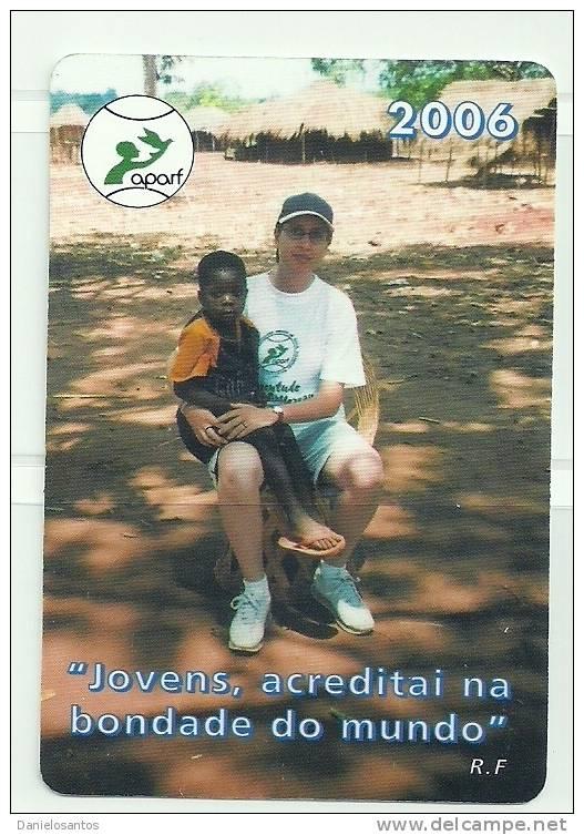 2006 Pocket Poche Bolsillo Calender Calandrier Calendario  Portugal APARF - Calendars