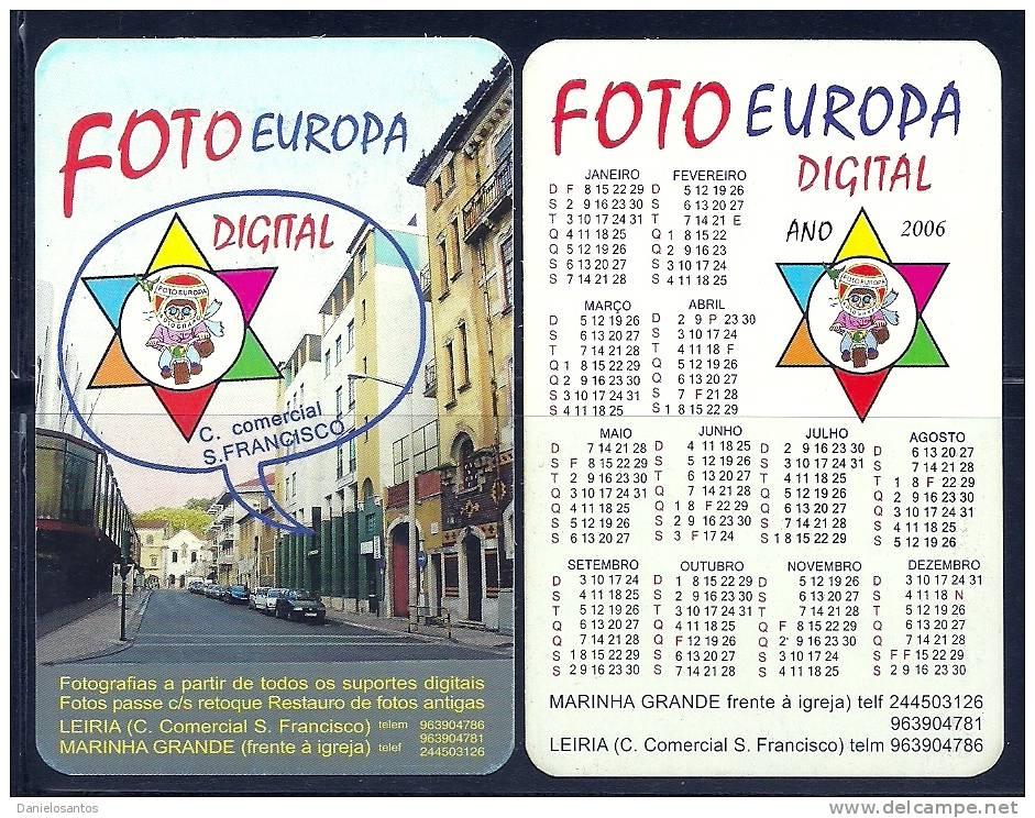 2006 Pocket Poche Bolsillo Calender Calandrier Calendario Portugal Foto - Calendars