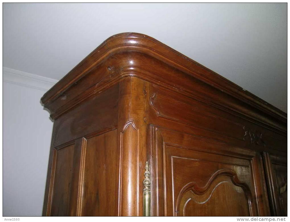 Meubles ancienne armoire normande en noyer entierement demontable - Armoire normande ancienne ...