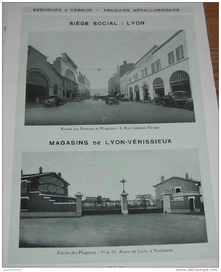 descours cabaud produits m tallurgiques album fers et aciers 1932. Black Bedroom Furniture Sets. Home Design Ideas
