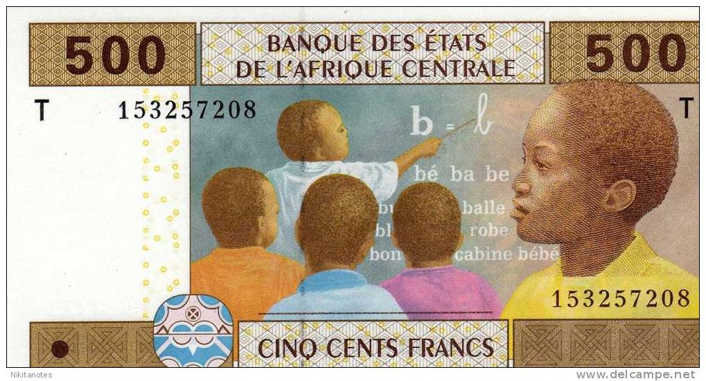 TOGO  500 FRANCS AFRIQUE CENTRALE - UNC - Togo
