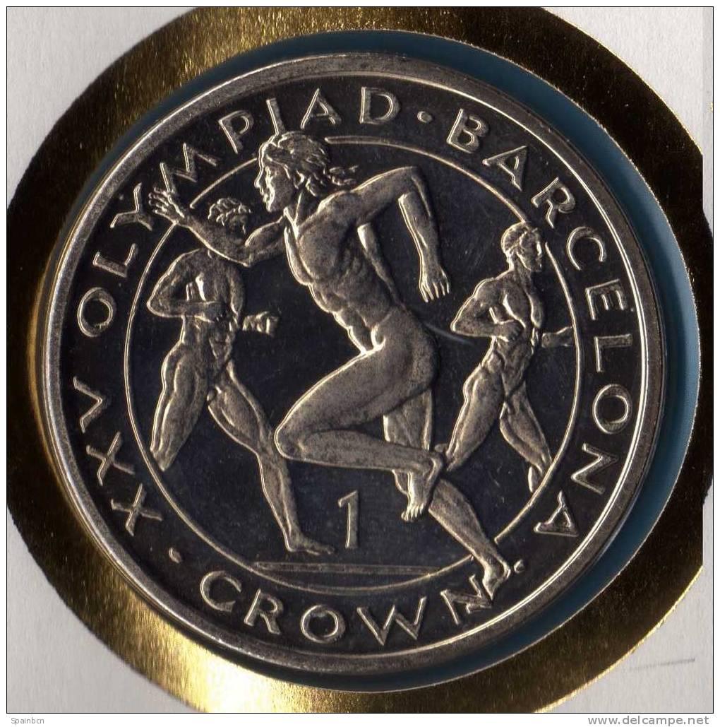 MALTA / GIBRALTAR  ** European Olympics ANDORRA 1991  ** CARTA NUMISMATICA  - NUMISBRIEF - NUMIS / COIN LETTER - Gibraltar