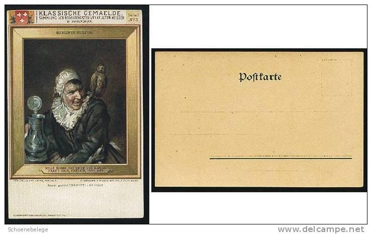 A260) Karte Gemälde Hille Bobbe, Die Hexe Von Harlem Serie I/3 Berliner Museum - Museen
