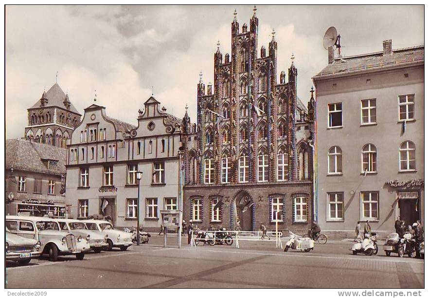 N1976 Greifswald Platz Der Freundschaft 1967 Not Used Perfect Shape - Greifswald
