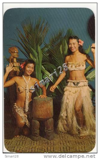 POLYNESIAN DANCERS - N° 2013 - Polynésie Française